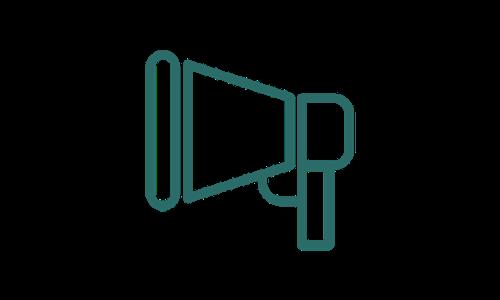 Icon of megaphone